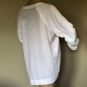 Ralph Lauren White vented top cotton XL